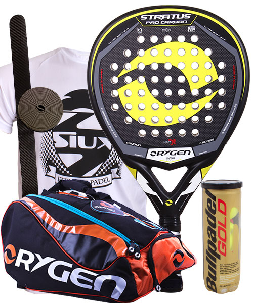 PACK ORYGEN STRATUS AND ORYGEN BEGINNING PADEL BAG