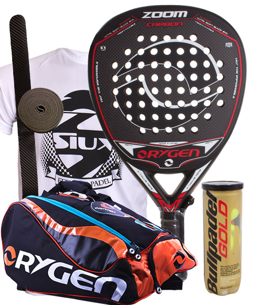 PACK ORYGEN ZOOM AND ORYGEN BEGINNING PADEL BAG