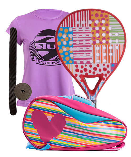 PACK AGATHA DOTS AND AGATHA PADEL RACKET BAG
