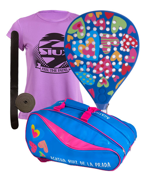 PACK AGATHA HEAVEN AND AGATHA RAINBOW PADEL RACKET BAG