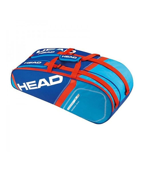 RACKET BAG CORE 6R COMBI BLUE