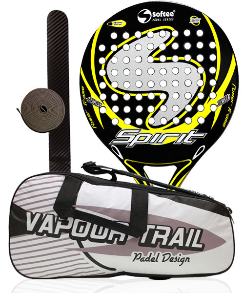 PACK SOFTEE SPIRIT AMARILLO Y PALETERO SOFTEE VAPOUR TRAIL