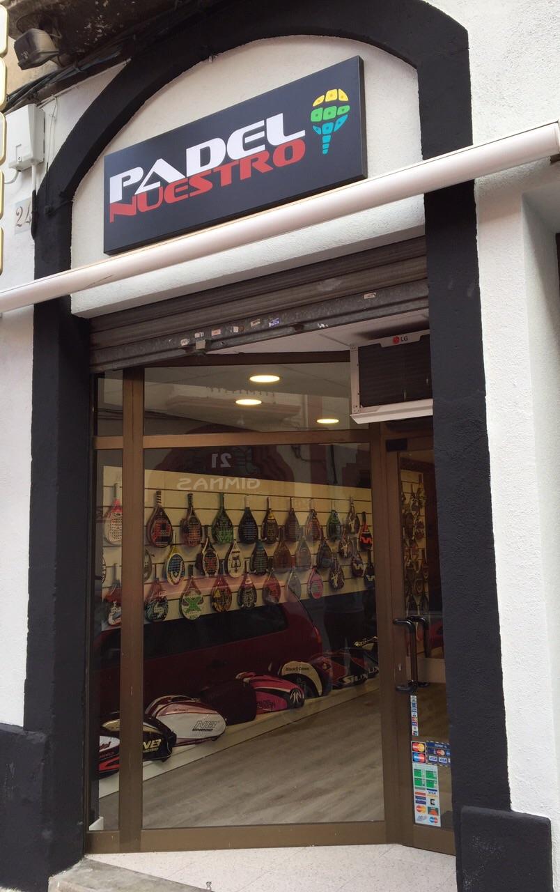 Tienda de padel en Barcelona - PADEL NUESTRO