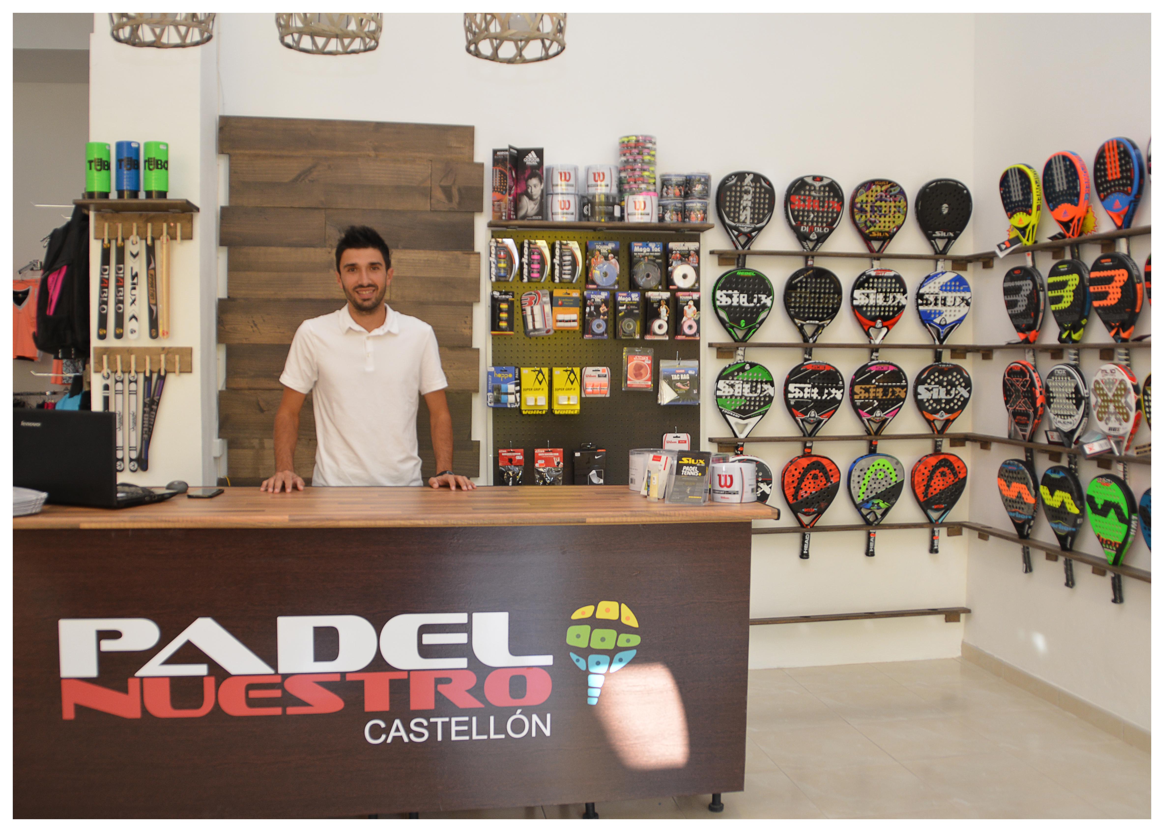 Aparador Retro Colorido ~ Tienda de padel en Castellon PADEL NUESTRO